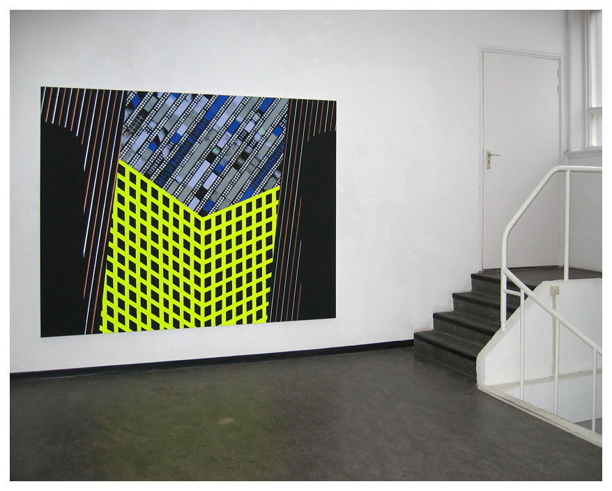 Architectural construction V | Architectonische constructie V,  180x225cm, 2008   Anuli Croon