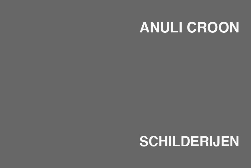 Anuli Croon : schilderijen 1993 - 1997