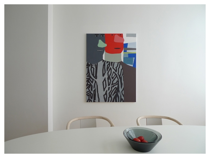 Mug & Phiz III, 110x80cm, 2004 Private collection Rotterdam