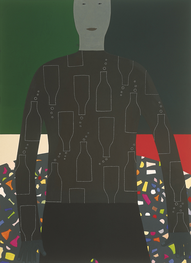 Dansvloer, 180x130cm, 2000_ Anuli Croon | Private collection