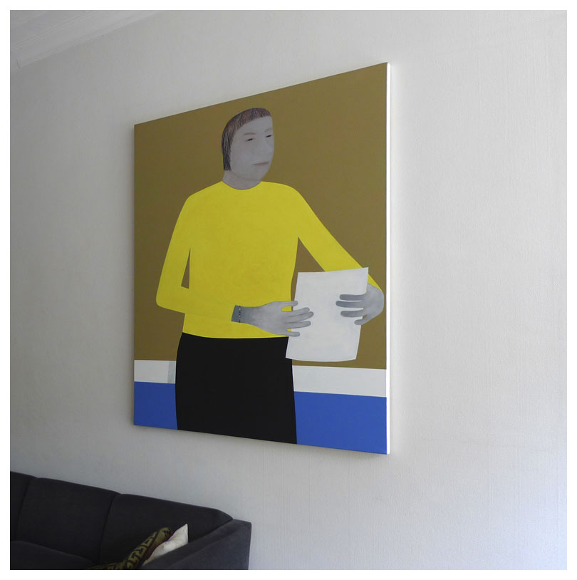 Yellow Sweater 1998 Anuli Croon / private collection