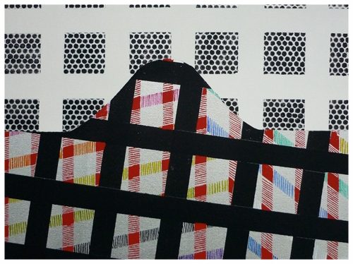 Fragment of a city | Stadsfragment, 30 x 40 cm, 2013-T , Anuli Croon